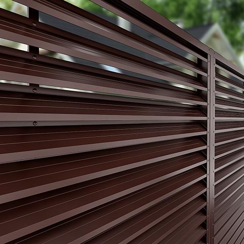 Gard din jaluzea metalica in Romania la comandă